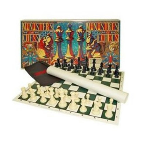 Corinthian Games Ministerstm Chess Set Standard Chess With A Twist (Crtgs001)