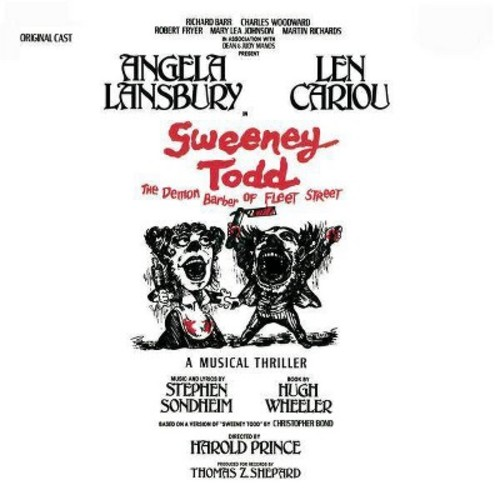 Stephen sondheim - Sweeney todd (Ost) (CD)