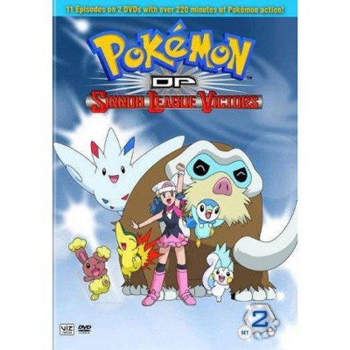 Pokemon DP Sinnoh League Victors: Set 2 (2 Discs) (dvd_video)