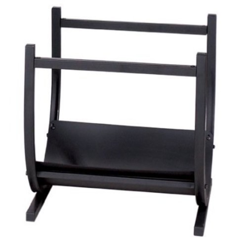 Blue Rhino W-1185 Uniflame Wrought Iron Log Rack Black