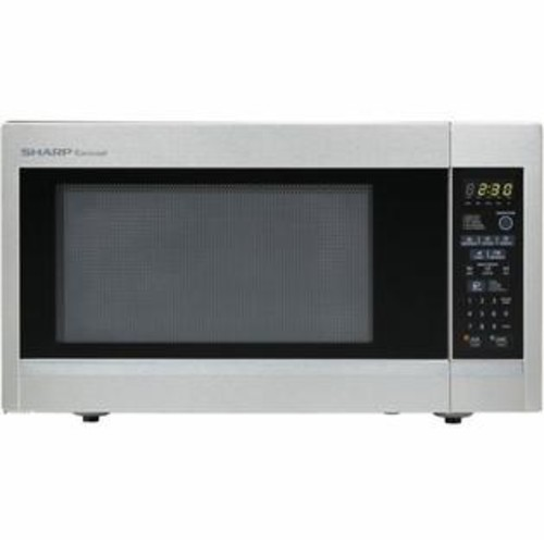 Sharp Carousel 1.8 Cu. Ft. 1100W Countertop Microwave Oven - Stainless Steel