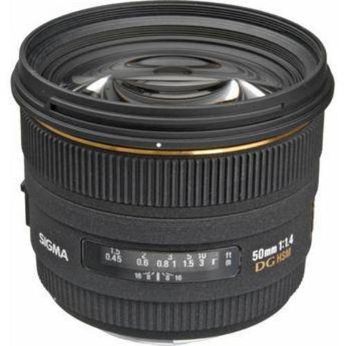 50mm f/1.4 EX DG HSM Lens for Nikon F