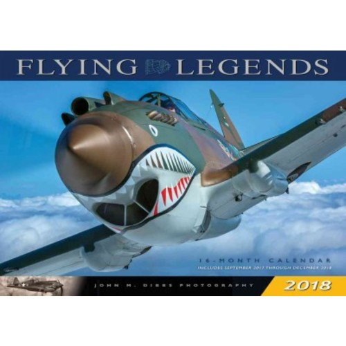Flying Legends 2018 Calendar (Deluxe) (Paperback)