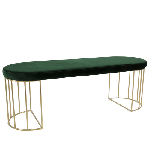 Lumisource Canary Contemporary Dining/Entryway Bench by