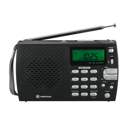 Compact Portable AM/FM Shortwave Radio