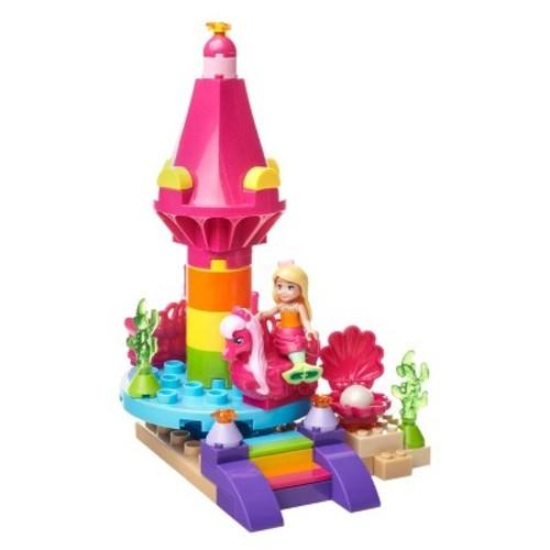 Mega Construx Barbie Dreamtopia Seahorse Carousel Building Set