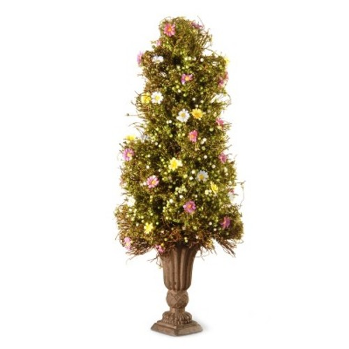 Artificial Spring Flower Tree Green 2ft - National Tree Company