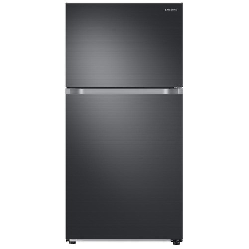 Samsung 21.1 cu. ft. Top Freezer Refrigerator with FlexZone Freezer in Black Stainless, Energy Star