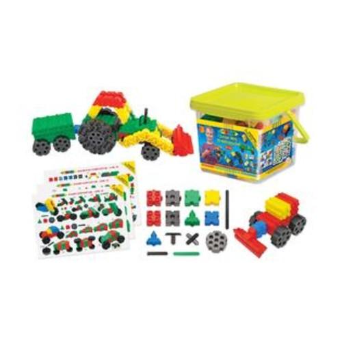 WABA Fun Morphun Junior Xtra 10 Vehicle s Set: 251 Pcs