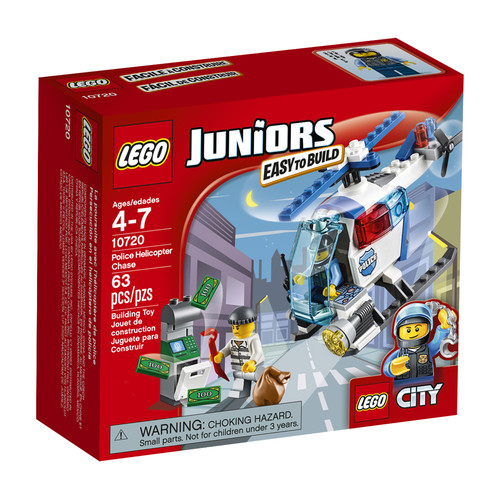 LEGO JUNIORS CITY Police Helicopter #10720