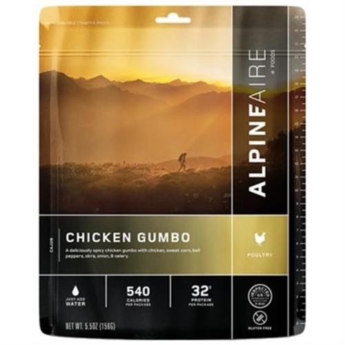 Alpine Aire Foods Chicken Gumbo Serves 2 SKU: 60309
