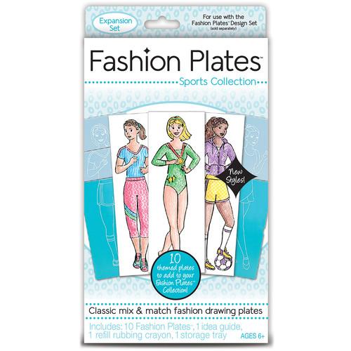 Kahootz Fashion Plates 10/Pkg-Sports