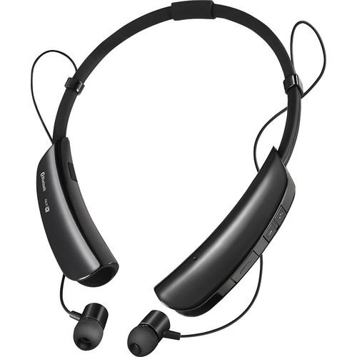 Insignia - Wireless In-Ear Headset - Black