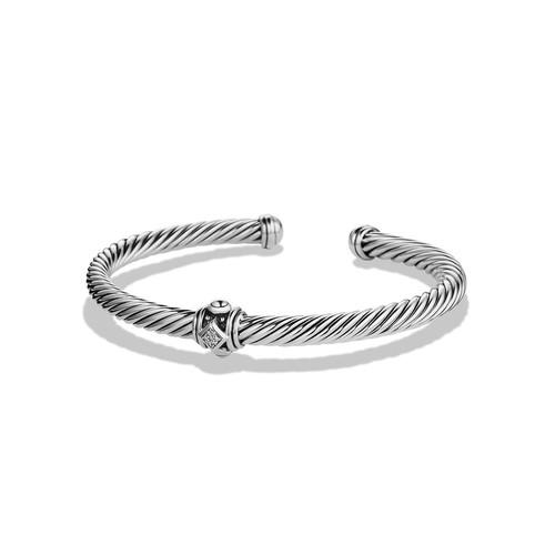 Renaissance Station Bracelet with Diamonds