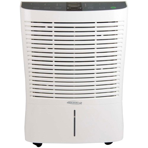 Soleus Air 95-Pint Dehumidifier with Internal Pump in White
