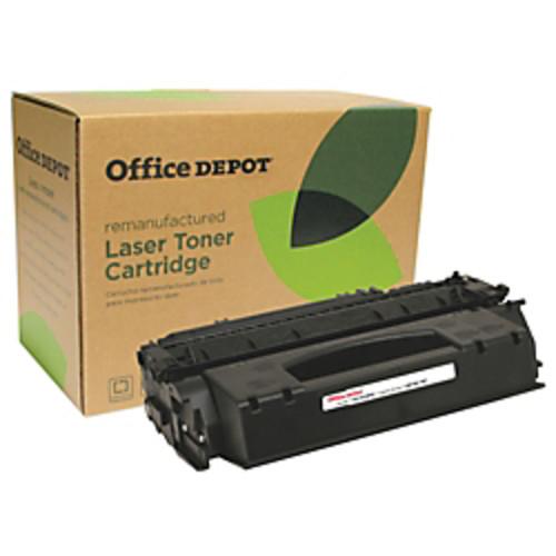 Office Depot Brand Q49X (HP 49X) Remanufactured High-Yield Black Toner Cartridge