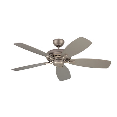 Monte Carlo Designer Max Brushed Pewter 52-inch Ceiling Fan