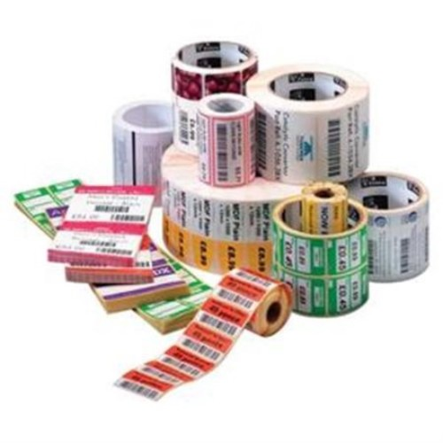 Zebra Label Paper 4 x 3in Direct Thermal Z-Perform 2000D 1 in core - 1 Roll