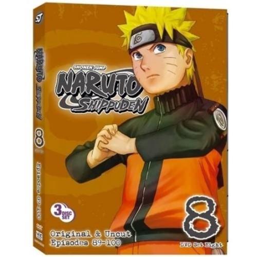 Naruto: Shippuden - Box Set 8 [3 Discs] [DVD]
