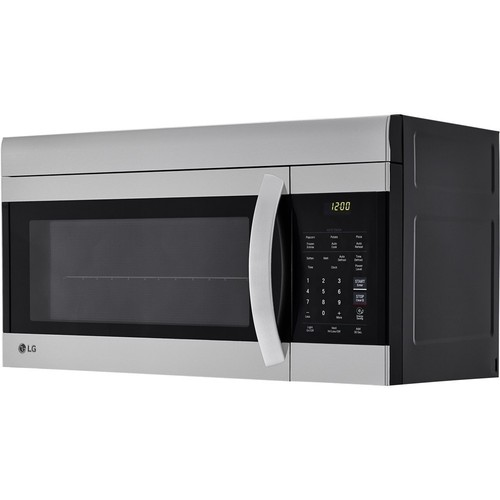 LG - 1.7 Cu. Ft. Over-the-Range Microwave - Stainless steel
