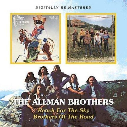 Allman Brothers - Reach for The Sky/Brothers of The Road