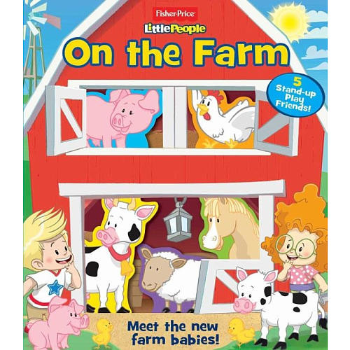 Fisher-Price Little People On the Farm Book