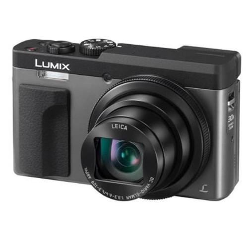 Panasonic Lumix DC-ZS70 Digital Camera, Silver With Free Accessory Bundle
