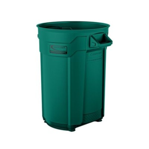 Suncast Commercial Utility Trash Can 44 Gallon, Green (BMTCU44G)