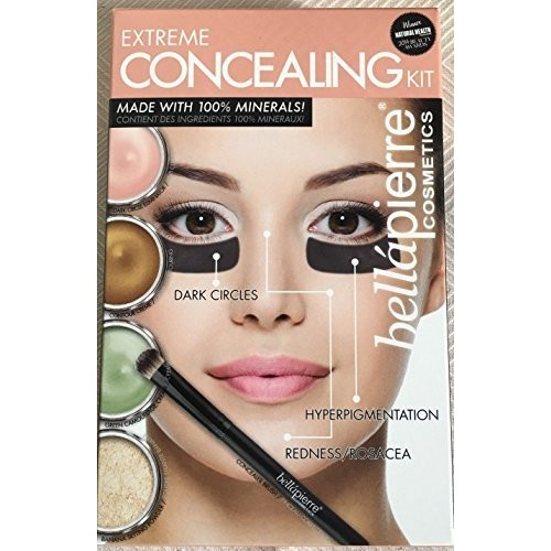 Bellapierre Extreme Concealing Kit For Facial Skin