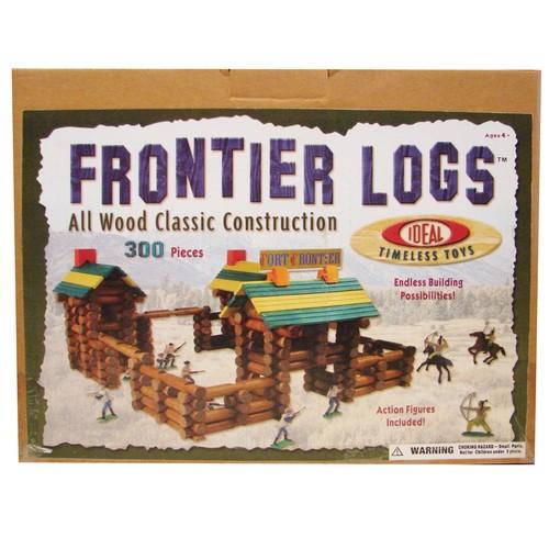Ideal Frontier Logs300-pc. Building Set