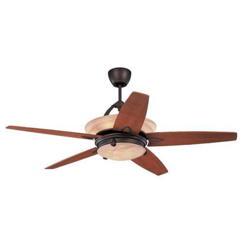 Monte Carlo 5AHR60RBD-L, Arch Ceiling Fan w/ Light & Wall or Remote Control,60