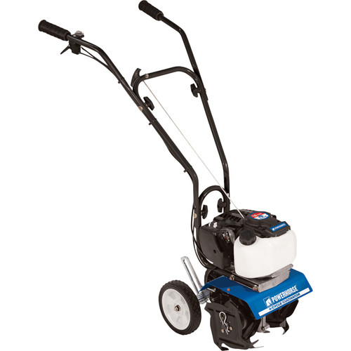 Powerhorse Mini Cultivator  10in. Tilling Width, 40cc 4-Cycle Viper Engine