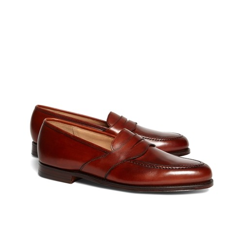 Peal & Co. Extended Strap Loafers