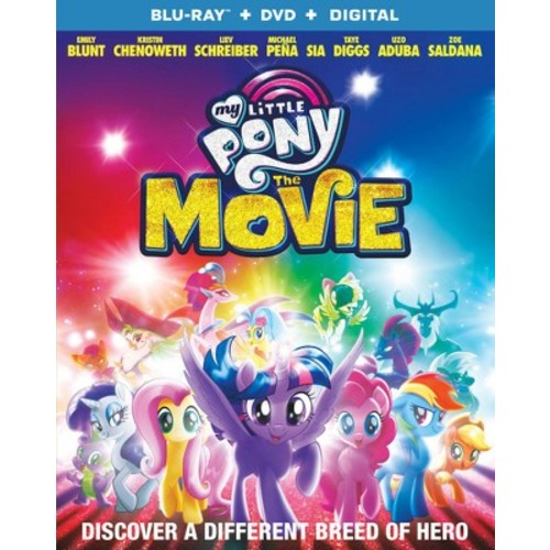 My Little Pony: The Movie (Blu-ray + DVD + Digital)