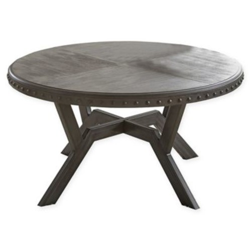 Steve Silver Co. Alamo Round Cocktail Table in Grey