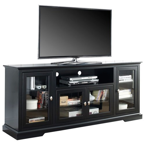 Walker Edison - Highboy TV Stand for Most Flat-Panel TVs Up to 70