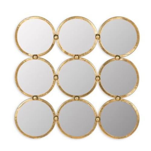 Safavieh Circles In The Square Mirror in Antique G