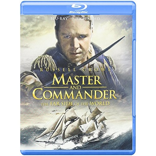 Master And Commander: The Far Side Of The World [Blu-ray]: Russell Crowe, Paul Bettany, James D'Arcy, Tony Dolan, Jack Randall, Lee Ingleby, Richard Pates, Billy Boyd, Edward Woodall, Chris Larkin, Max Pirkis, Max Benitz, Ian Mercer, Robert Pugh, Richard McCabe, David Threlfall, Bryan Dick, George Innes, William Mannering, Patrick Gallagher, Alex Palmer, Mark Lewis Jones, John De Santis, Peter Weir, Jr. Samuel Goldwyn, Duncan Henderson: Movies & TV