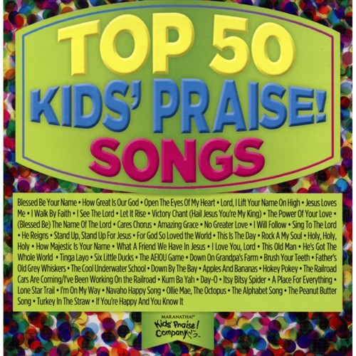 Top 50 Kids Praise! Songs [CD]