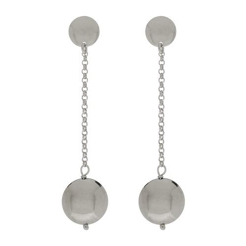 Drop Pod Chain Earrings