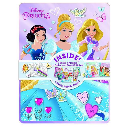 Disney Princess Happy Tins Activity and Coloring Book