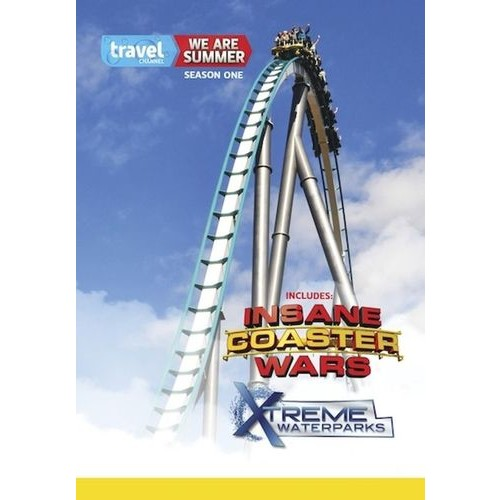 We Are Summer: Season One - Insane Coaster Wars/Xtreme Waterparks [2 Discs] [DVD]