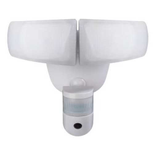 Defiant 180 White LED Wi-Fi Video Motion Security Light