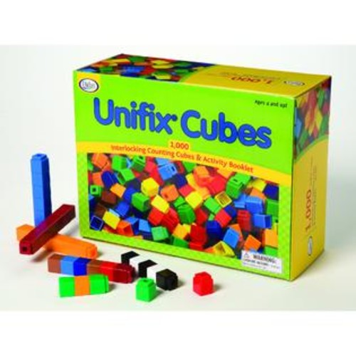 DIDAX UNIFIX Cube Set (Package of 1000)