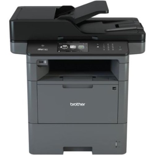Brother MFC-L6800DW Laser Multifunction Printer - Monochrome - Plain Paper Print - Desktop - Copier/Fax/Printer/Scanner