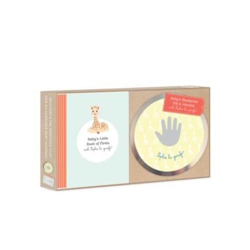 Baby's Hand Print Kit & Journal with Sophie La Girafe