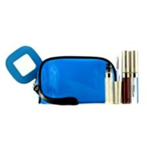 Kanebo Lip Gloss Set With Blue Cosmetic Bag