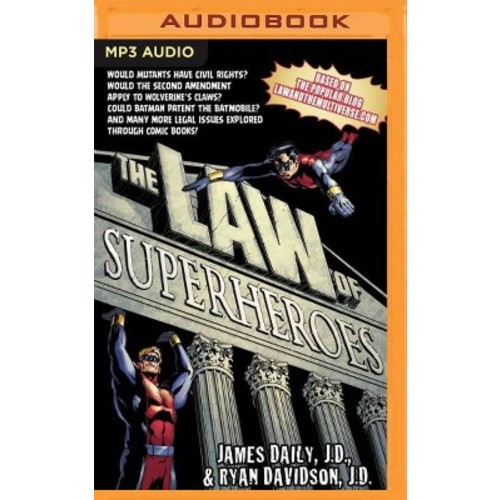 Law of Superheroes (MP3-CD) (James Daily)