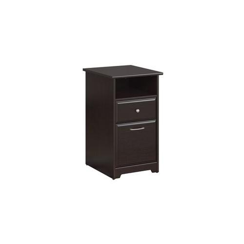 Bush Furniture Filing Cabinets & File Storage Cabot Espresso Oak 2-drawer File Cabinet