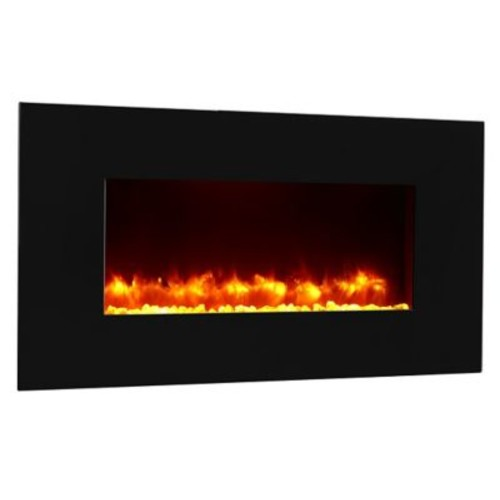 Puraflame Remote Control Wall Mount Electric Fireplace